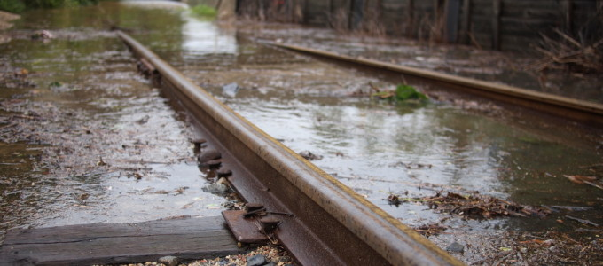 Manayunk Train Tracks