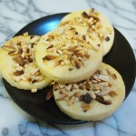 Fancy Almond Shortbread Rounds