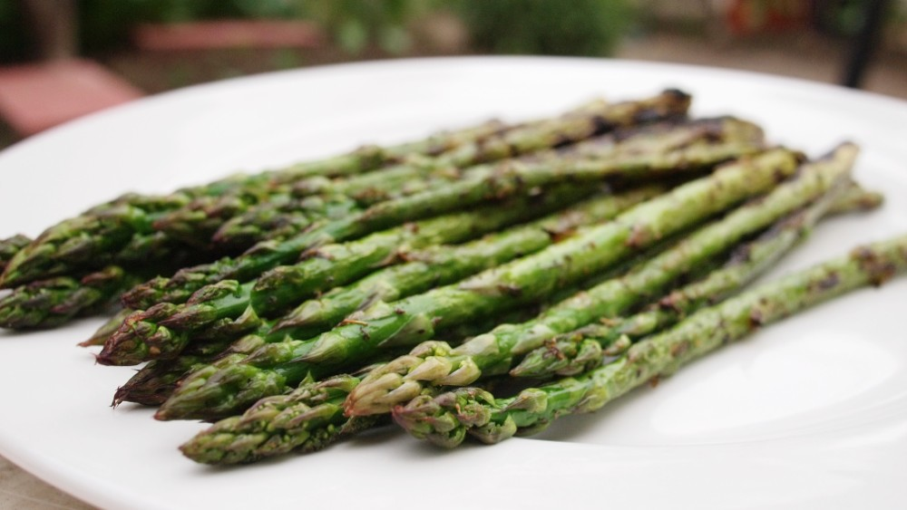 Grilled Asparagus - Twice Cooked