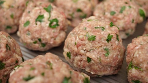 Meatballs Marinara, Italian Style