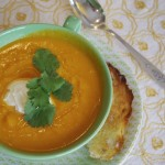 Carrot and Coriander Soup, Not Once But Twice