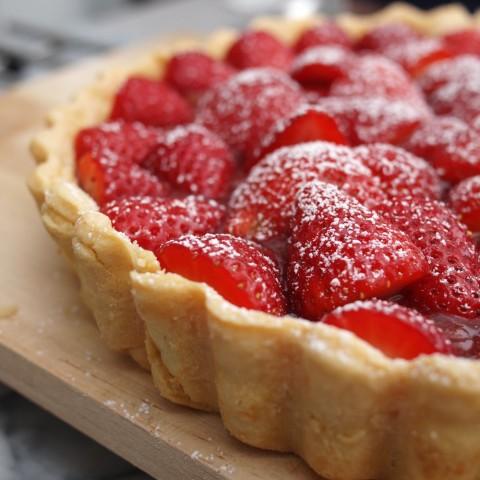 Strawberry-Rhubarb Tart