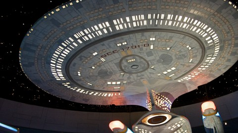 Off Topic, On Star Trek