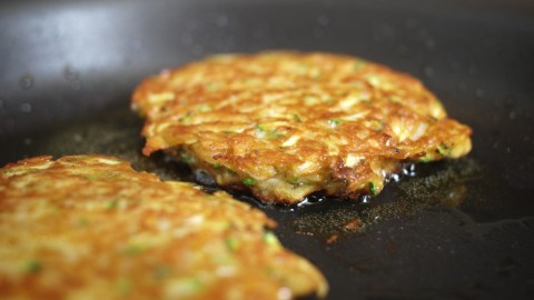 Zucchini Cakes, For One