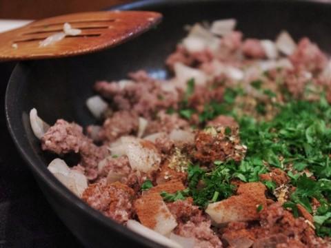Moussaka meat