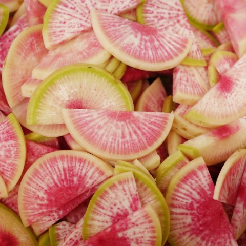 Pickled Radishes: In All the Colors of the Rainbow