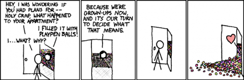 Grown-ups, by Randall Munroe