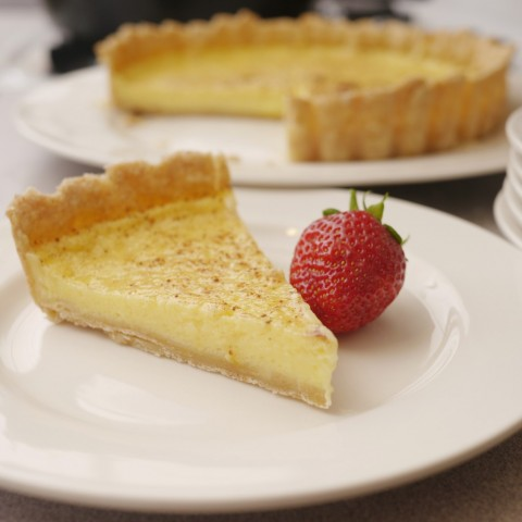 Lemon Kefir Tart