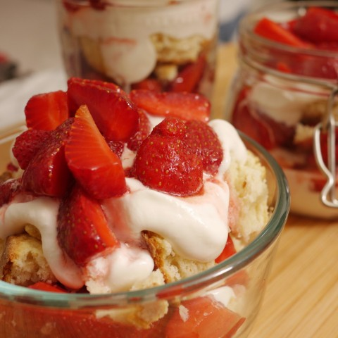 Strawberry Shortcake Without Pretense