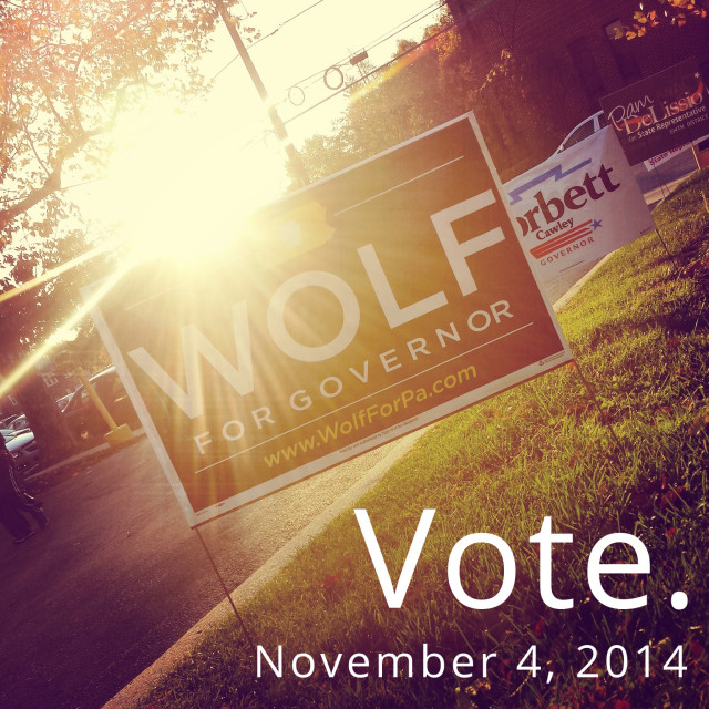 Go vote, 2014 edition