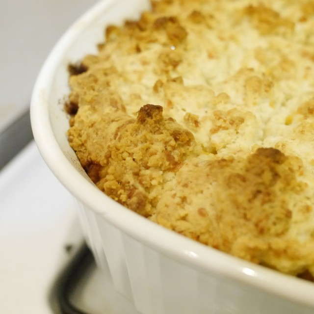 Biscuit-Topped Pork Pot Pie